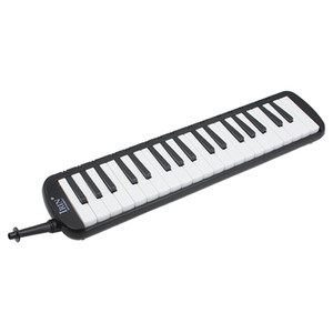 Black 37 Piano Keys Melodica Pianica w Carrying Bag For Students New E6J2