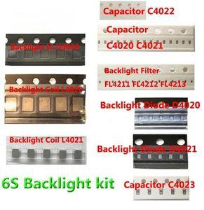 13 teile / los für iphone 6s hintergrundbeleuchtung ic U4020 + Spule L4020 L4021 + Diode D4020 D4021 + Kondensator C4023 C4021 C4022 + Filter FL4211 -13