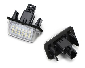 Error Free 2pcs 12V 18 LED 6000k Number Number Lights Lights Lamp for Toyota / Camry / Yaris / Ford / Hybrid