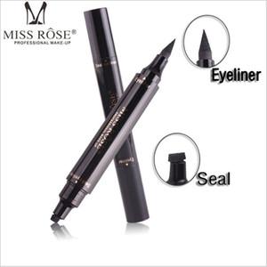 미스 로즈 스탬프 Eyeliner 물개 연필 전문 아이 메이크업 도구 더블 헤드 두 머리 Eyeliner 펜 100pcs DHL 무료 배송 60pcs