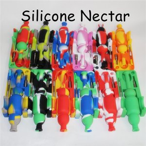 Nectar Collector set with domeless Titanium nail 10mm nector collector kit oil rigs mini glass pipes water Pipes