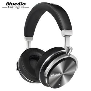 Venda quente Bluedio T4 Fone De Ouvido Bluetooth Fones De Ouvido Sem Fio / Fio Fone De Ouvido Microfone De Música Bluetooth Fone De Ouvido Portátil