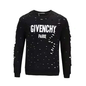 Neue Mode-Männer Sweatshirt-Großhandelsspitze 2019 3D lässt goldene Ketten-Medusa-kühle Männer dünnes Muster-heißes Sweatshirt