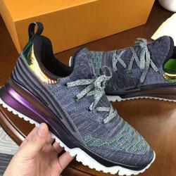 2018 de luxe Designer chaussures VNR tricot Casual femmes hommes Sneakers Véritable Cuir ridé en peau de mouton Arena Lace-up luxe Trainers Chaussures