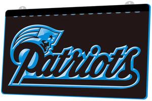 LS861-b-b-New-England-Patriots-Futebol-Neon-Light Decor frete grátis Dropshipping Atacado 8 cores para escolher