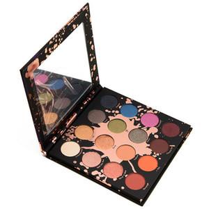 Nueva paleta de sombra de ojos 16 colores PERCEPCIÓN Shayla X Colourpop Makeup shadow Palette Cosmetics