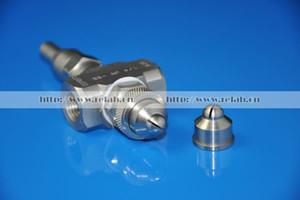 Boquilla de atomización de aire de 2 piezas, atomizador de aire Siphon, con aguja de limpieza. Velocidad de flujo ajustable, envío gratuito