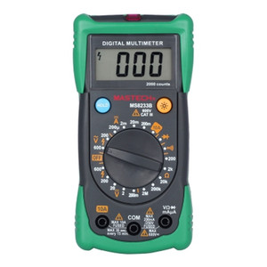 MASTECH Professional Digital Multimeter DMM AC Voltage Meter Data Hold mit Amperemeter-Kapazitätsprüfgerät für Hintergrundbeleuchtung
