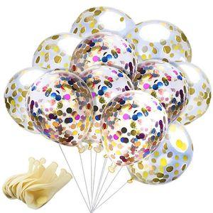 12 인치 장식 조각 채워진 명확한 풍선 참신 키즈 장난감 아름다운 생일 파티 웨딩 장식 8 스타일 C4318