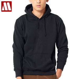 MYDBSH 2018 Nueva marca Hoodie Streetwear Hip Hop negro gris sudadera con capucha Jersey sudaderas con capucha y sudaderas para hombre más el tamaño XS-XXXXL