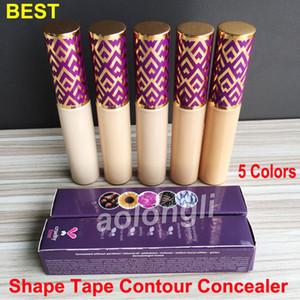 5 цветов Форма ленты Concealer Foundation Контур Крем для лица Макияж контур Корректор 10мл Medium Light Sand Fair Light Light Medium
