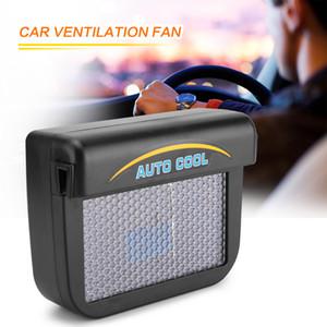 LONGFENG LF53 Güneş Güneş Enerjisi Mini Klima Araba Pencere Oto Hava Firar için Serin Fan Taşınabilir Araba Klima Havalandırma
