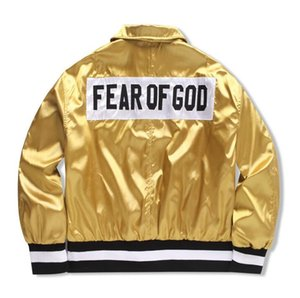 2018 Fünfte Kollektion BIEBER street brand Kleidung Kleidung Herren jacken kanye west hiphop streetwear sommerkleider