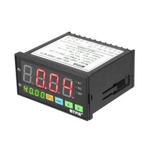 Medidor de Sensor Digital Multi-funcional de Transmissores de Pressão Inteligente Display LED 0-75 mV / 4-20mA / 0-10 V 2 Saída de Alarme do Relé