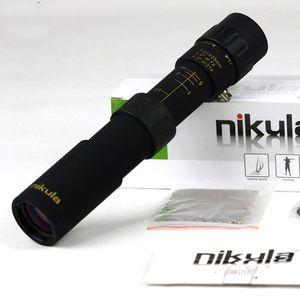 مناظير الأصلي نيكولا 10-30x25 التكبير أحادي جودة عالية تلسكوب الجيب مناظير الصيد نطاق بصري لا ترايبود