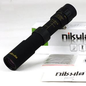 مناظير الصيد المنشور 10-30x25 تكبير أحادي عالية الجودة البصرية جيب ترايبود تلسكوب الأصلي لا نطاق نيكولا binoculo kgxxe