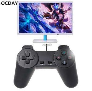 OCDAY USB 2.0 Gaming Gamepad Joystick Wired Controller di gioco per computer portatile PC Drop ship