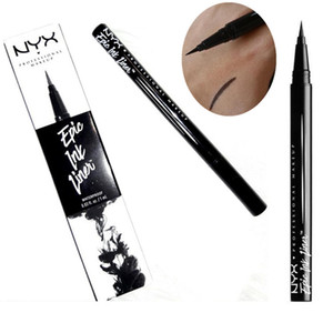 NYX Epic Ink Liner nyx Black eyeliner pencil Headed makeup liquid Black Color eye liner Combination waterproof Cosmetics Long Lasting DHL