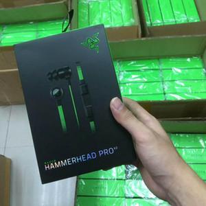 Razer Hammerhead V2 pro V2 Наушники-вкладыши для наушников с микрофоном с розничной коробкой Игровые гарнитуры Изоляция шума Стерео бас