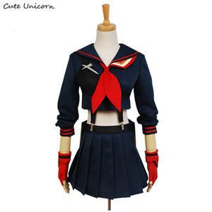 Lindo Unicorn KILL la KILL Ryuko Matoi Cosplay Anime Vestido de fiesta disfraces de halloween para mujeres Niñas por encargo uniforme