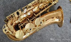 Nouvelle marque plaqué or YANAGISAWA A-992 WO20 Saxophone Alto Professionnel Instruments de Musique Sax avec Embouchure, Étui, Accessoires