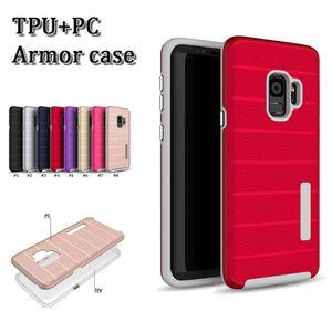 2 en 1 tpu + pc hard armor case protector para teléfono celular anti-sudor anti huella digital protector a prueba de golpes contraportada para iphone X XR XS MAX