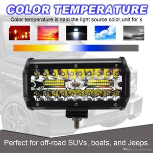 free shipping yentl 4WD SUV Driving Fog Light for boat jeep suvs 120W LED Work Light Bar Flood Spot Beam Offroad