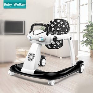Lovely Panda Baby Walker for 6-24 Moths, Multifunctional Baby Car With Wheel & Music Box, Foldable Adjustable Baby Cart