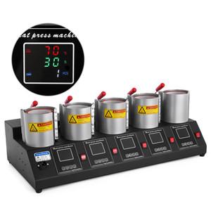 11oz 14 oz 15oz 5IN1 1 Sublime 60 Hz Kupa Isı Basın Transferi içinde Kupalar Kupa Isı Basın Makinesi 5 Kaplı