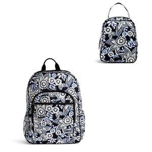 Campus Bolsa Escola tecnologia Backpack com almoço Bag