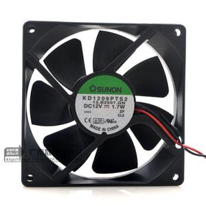 Frete grátis SUNON KD1209PTS2 9225 DC 12 V 1.7 W 3 wire Servidor Inversor Caso PC Ventilador De Refrigeração