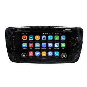 7 pouces 4 Go de RAM 8-cœurs Andriod 8.0 Lecteur DVD de voiture pour Seat IBIZA avec GPS, commande au volant, Bluetooth, Radio