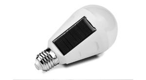 220V-110V Solarlampe betriebene bewegliches E27 führte Birnen-Licht-7W 12W Solarenergie-Lampe LED-Beleuchtung Solar-Panel Camp Außenleuchte