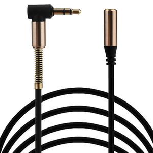 جديد 100cm 3.5mm ذكر إلى أنثى ستيريو سماعة سيارة Aux Audio Extension Cable لفون 7 ل SamsungS8