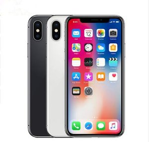 Original Unlocked iPhone X 4G LTE Mobile phone 5.8'' 12.0MP 3G RAM 64G 256G ROM Without Face ID Cellphone free DHL