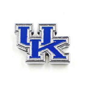 Moda Esmalte Kentucky Wildcats Encantos de Slides 8mm de Metal REINO UNIDO Encantos de Slides Para Colar Pulseira Chaveiro Pet Collar Jewelry Making