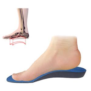 Plantilla ortopédica del pie plano Plantilla correctora del arco del pie EVA masculina y femenina Corrección interior y exterior