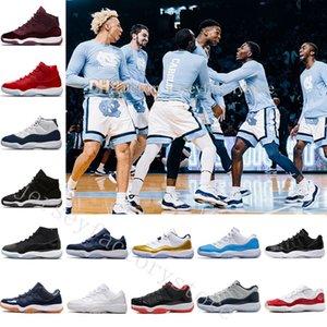 2018 11 Chaussures de Basket Bas Faible Mens Hommes Femmes Bleu Sports Relo 11s XI Bred Space Jam Heiress Concord Hommes Chine Printemps Sneaker Velours Hérit