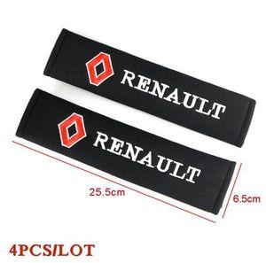 Стайлинга автомобилей ремень безопасности обложка Pad подходит для Renault duster megane 2 logan renault clio 2110 автомобилей-стайлинг
