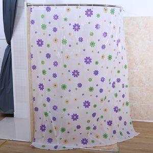 Nouveau design Tissu Starfish Rideau de douche imperméable / Répulsif eau antibactériennes Salle de bains Expédition rapide 180x200