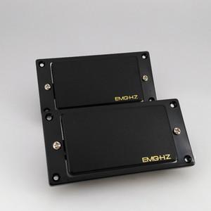 Китайская электрогитара EMG HZ пассивный пикап 4 кабеля шейные и мостовые пикапы в наличии бесплатная доставка