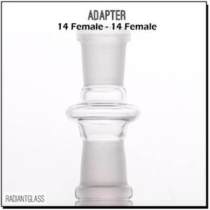 Toptan cam adaptörü 10mm 14mm 18mm dişi wapter boru için kadın ortak eklem glss bong yağı rig adaptörleri ücretsiz kargo