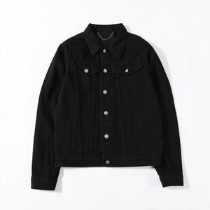 Nouvelle arrivée marque denim jeans veste mens tops printemps automne harajuku été manteau d