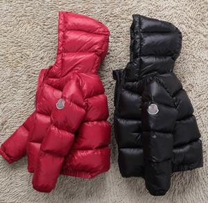 heißer Verkauf Drop Shippinwinter Daunenjacke Parka für Mädchen Jungen Mäntel 90% Daunenjacken Kinderkleidung für Schnee tragen Kinder Oberbekleidung