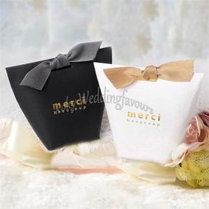 무료 해피 50PCS Merci Beaucoup 호의 상자 기념일 호의 상자 웨딩 파티 선물 패키지 Little Things Gift Boxes