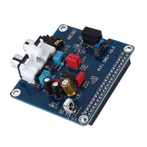 Freeshipping PIFI Digi DAC + Scheda audio HIFI Scheda audio Interfaccia I2S per Raspberry pi 3 2 Modello B B + Scheda audio digitale Pinboard V2.0 SC08