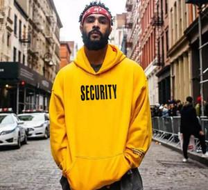 Mens Street Hoodies Sicherheit Purpose Print Pullover mit Kapuze Sweatshirts Tour-lose Hip Hop Pullover Winter-beiläufige Hoodies