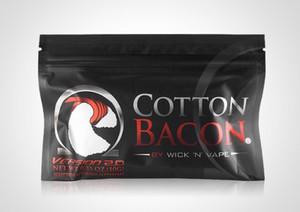 Coil Master Cotton bacon высококачественный органический хлопок 10 полосок каждая упаковка предназначена для парения для испарителя RDAs