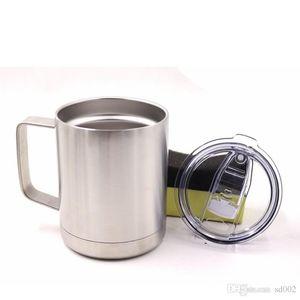 Tazza di vuoto della tazza di vuoto dell'acciaio inossidabile della tazza 10oz che resiste alla chiavetta portatile del caffè con il coperchio della prova della perdita per guidare 31 94hk ZZ