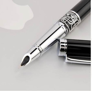 FINE FINAL FINE 0.5mm Fountain Pen para Finanzas Metal Tinta Plumas Oficina Fuentes de Oficina Supplie Supplie Regalo Cumpleaños